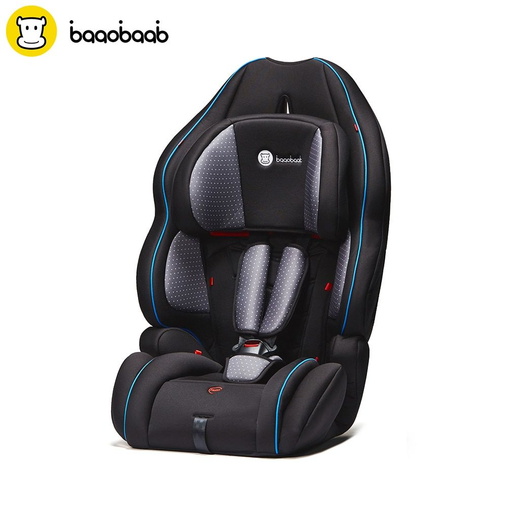 Baaobaab 728 3 in1 Baby Child Car Seat 9-36 kg Forward Facing Safety Chair Booster Seat Group 1/2/3, 9 months to 12 Years Old