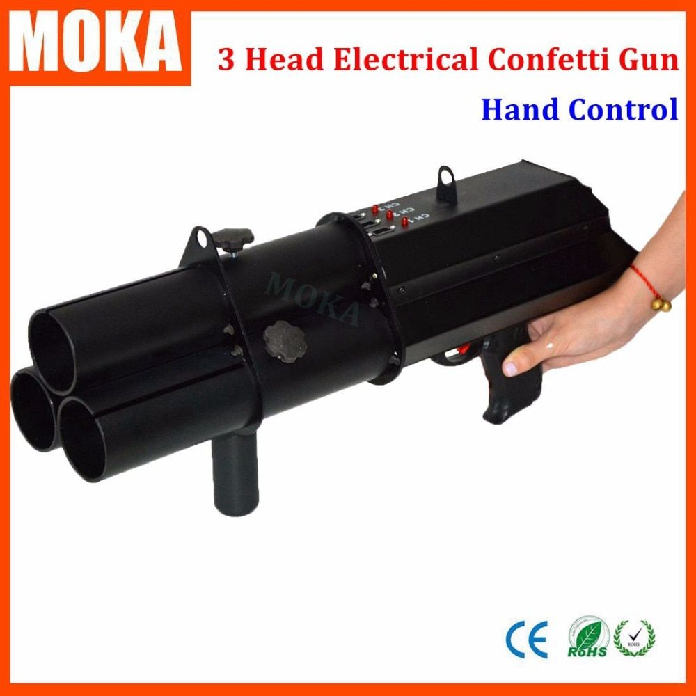 Stage Effect Machine Confetti Cannon Machine Paper Confetti Gun Machine Confetti Shooter Gun Machine