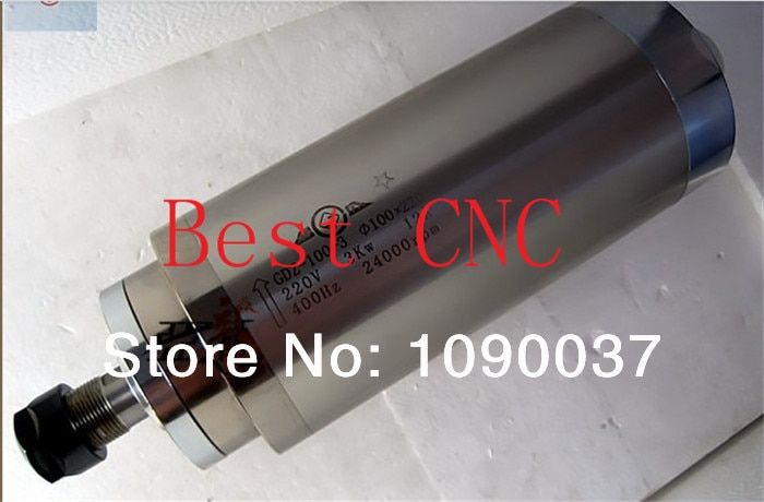 Hohe qualität ER-20 100mm 3.0kw 220 v 380 v cnc spindel motor 3kw CNC Spindel motor, spindel motor für cnc