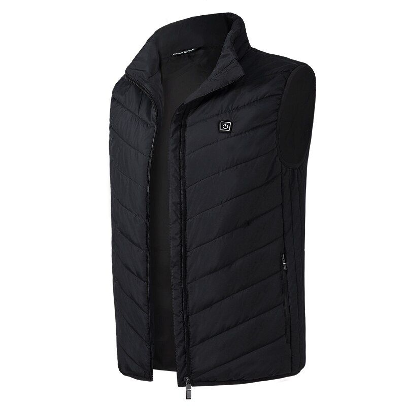 Electric Heated Vest Men Women Usb Heater Tactical Waistcoat Thermal Warm Fishing Hunting Hiking Vest Winter Heated Jacket