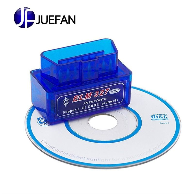 Haute qualité Mini elm327 v2.1 OBD2 Bluetooth Scanner automatique OBDII 2 voiture ELM 327 testeur outil de Diagnostic pour Android Windows Symbian