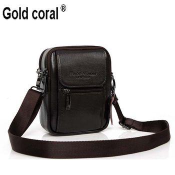 Мужская повседневная сумка через плечо мужская сумка поясная сумка из натуральной воловьей кожи сумка на ремне для мобильного телефона