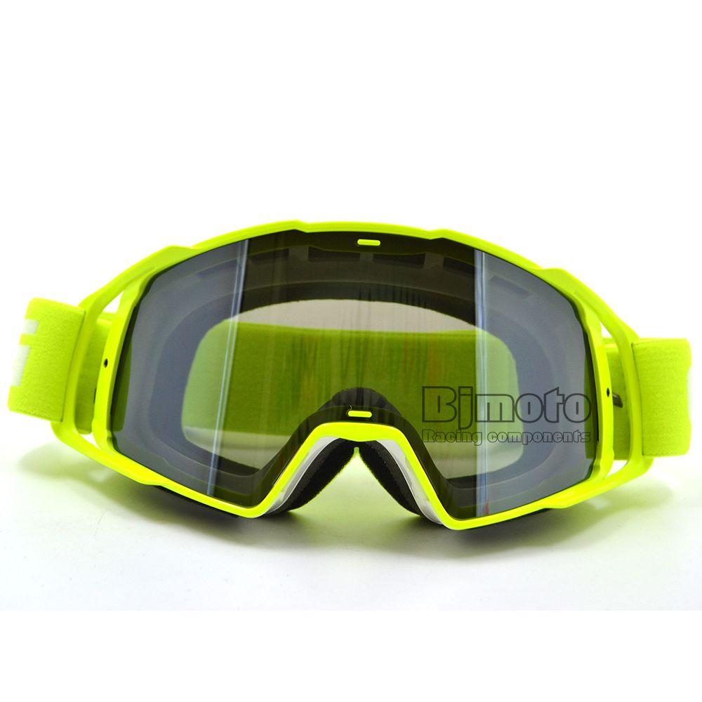 MG-021B-WH-YE Motocross lunettes lunettes hommes femmes MX hors route casques Sport Gafas lunettes pour vélo de saleté