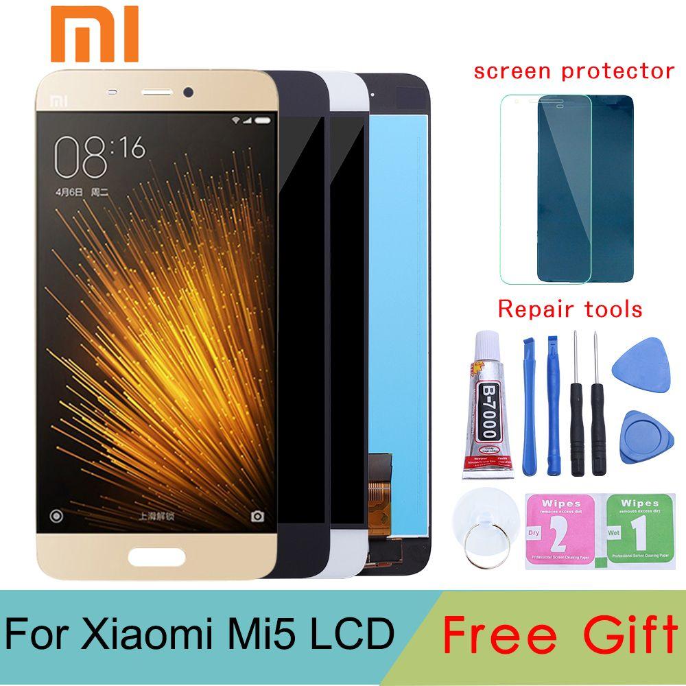 For Xiaomi Mi5 LCD Screen Display Quality AAA LCD Display+Touch Screen for Xiaomi Mi5 M5/ Mi5 Pro/ Mi5 Prime 5.15'' Black