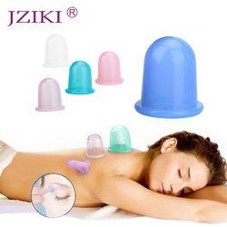 1 Pc Silicone Tasse Thérapie Famille Corps De Massage Aide Soins de Santé Anti-Cellulite Vide Silicone Ventouses Tasses