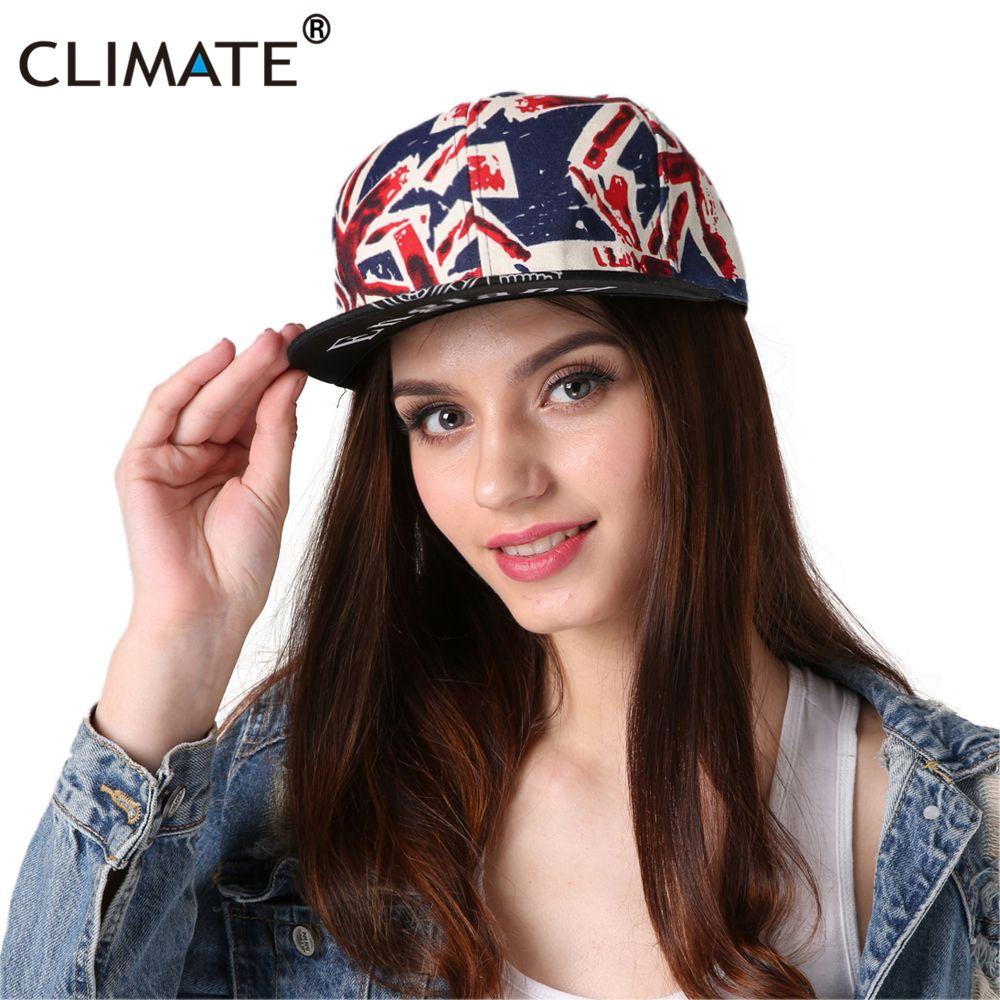CLIMA 2017 Nuevo Hiphop Saludar A la Bandera de Gran Bretaña Inglaterra Inglés REINO UNIDO Snapback Caps Snapback Sombrero Ben Grande Hombres Mujeres Primavera Verano sombrero