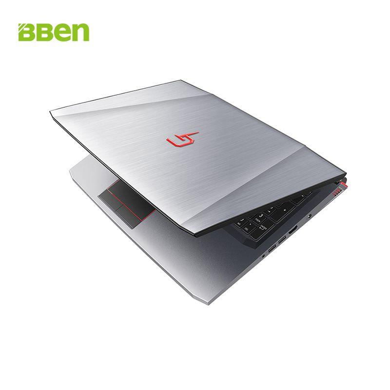 BBen G16 Laptop Intel i7 7700HQ NVIDIA GTX1060 Windows 10 8GB RAM 128GB SSD PCI-E 1T HDD 15.6 inch IPS Screen Backlit Keyboard