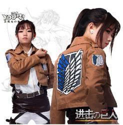 Атака на Титанов куртка Shingeki no Kyojin куртка Легион косплей костюм куртка пальто любой размер высокое качество Eren Levi