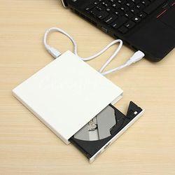 Mince USB 2.0 Externe Combo Lecteur Optique CD/DVD Lecteur CD Burner pour PC Ordinateur Portable