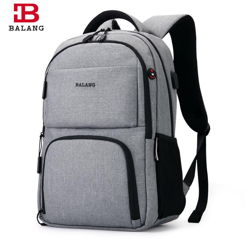 BALANG 2017 Men's Backpacks Unisex Multipurpose Women Backpack <font><b>School</b></font> Bags for 15.6 Laptop Notebook Waterproof Mochila Feminina