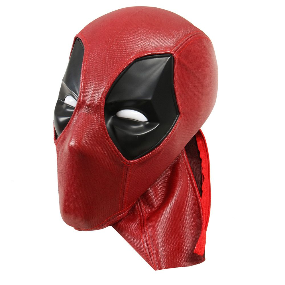 New Arrival Upgraded Deadpool ABS Plastic Full Shell Mask/Helmet with Two Sets of Magnetic Lenses Halloween Prop Gift Cosplay
