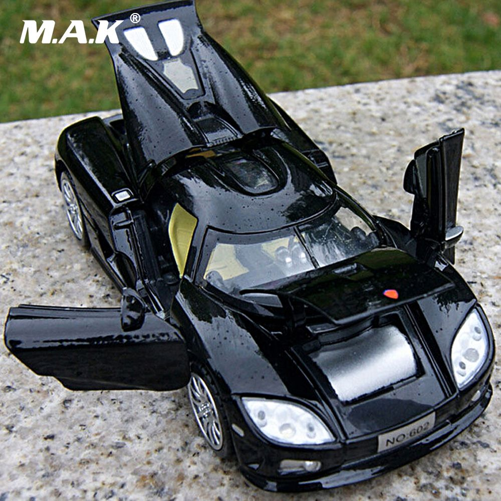 Kids Toys 1/32 <font><b>Scale</b></font> Koenigsegg Electronic Car Model Toys Children Collection Diecasts With Light Sound No sending battery