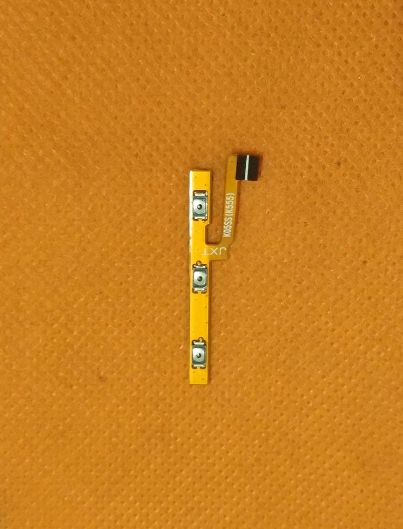 Original Power On Off Button Volume Key Flex Cable FPC For Vernee Mars 5.5 FHD MT6755 Octa Core Free shipping