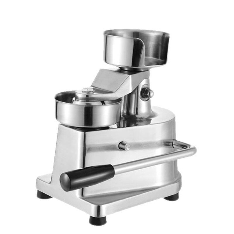 100 mm-130mm Manuelle Hamburger Presse Burger Forming Maschine Runde Fleisch gestaltung Aluminium Maschine Bildet Burger Patty Makers
