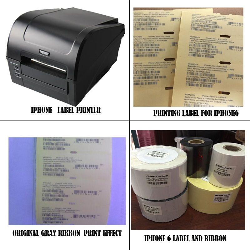 Imei label druck psolution für IOS handy bacode drucker verkauft mit bieten professionelle technische unterstützung