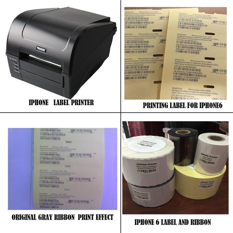 Imei label printing psolution for IOS mobile phone bacode printer sells with provide professional technical support