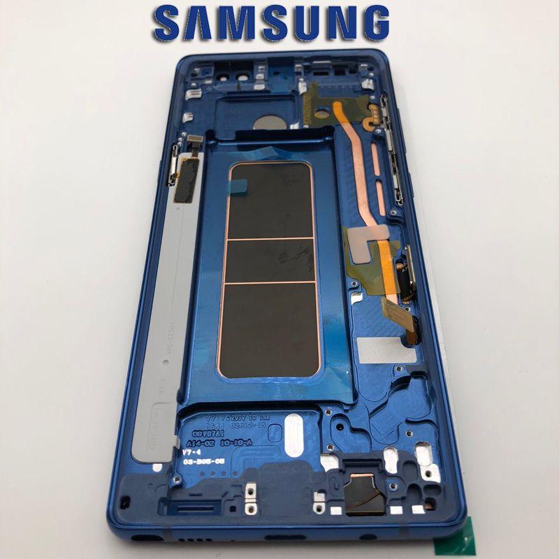Original Amoled LCDs Für Samsung Note 8 Lcd Display Touchscreen Digitizer Montage Für Samsung Pro N9500 N9500F N900D N900D