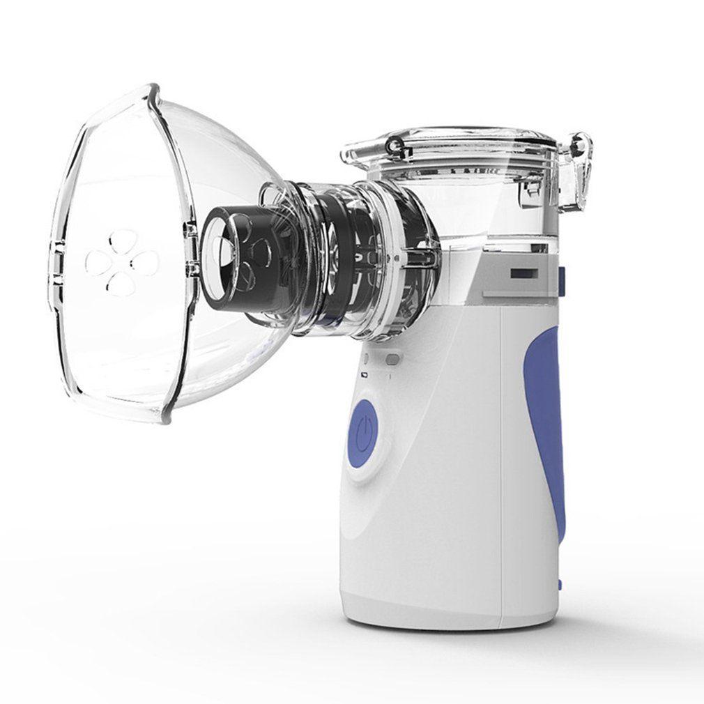 Mini nébuliseur portatif tenu dans la main d'inhalation de soins de santé nébuliseur ultrasonique silencieux d'inalador d'enfants automiseur Rechargeable adulte