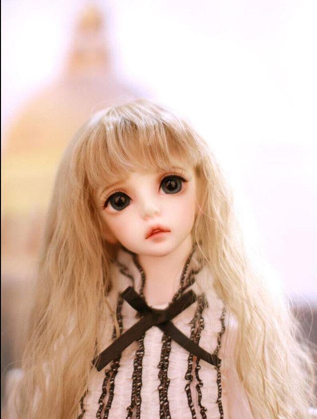 SuDoll BJD Doll 1/3 Classic Girl free eyes doll Lovely Girl