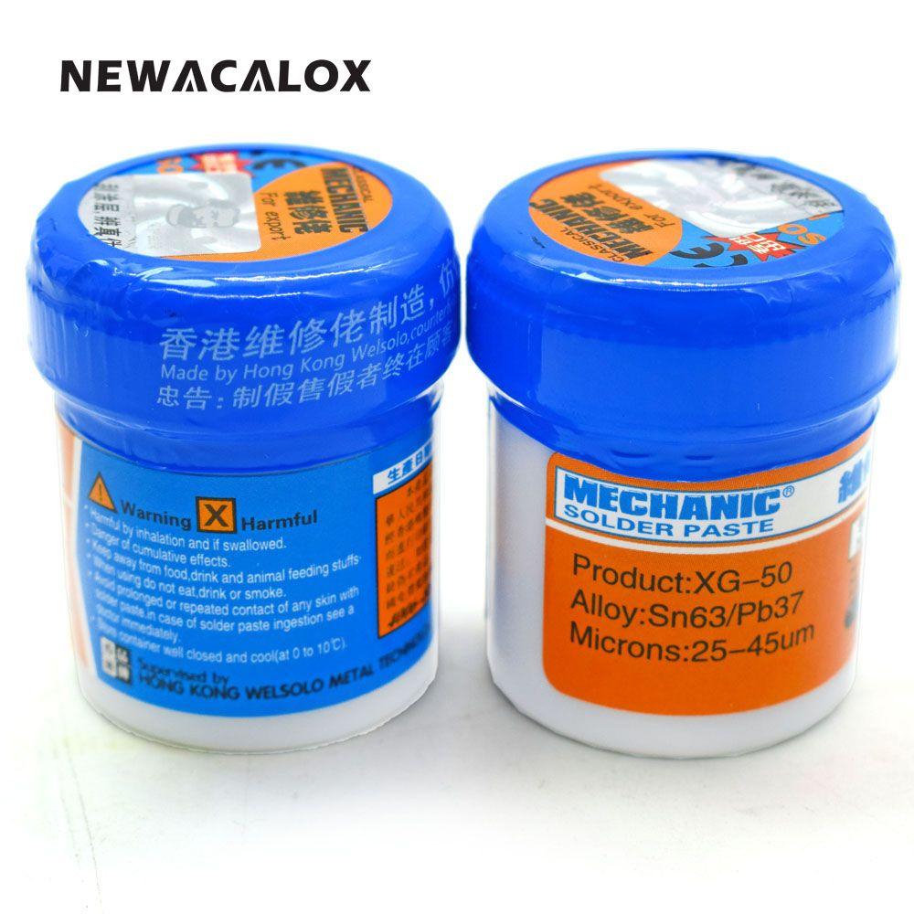 Welding Tool MECHANIC Solder Paste Flux XG-50 Sn63/Pb67 SMD SMT For 936 852D+ BGA Soldering Iron Station 2pcs/lot