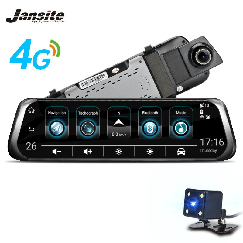 Jansite 4G WIFI Smart Car DVR 10