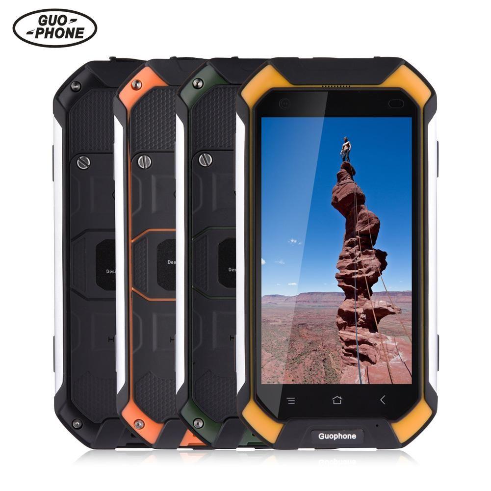 Guophone V19 Wasserdichte Smartphone 2 gb + 16 gb IP68 Stoßfest Telefon GPS 3g Android Smartphone Handy Telefon 4500 mah