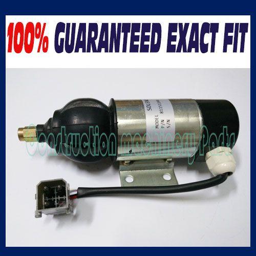Fuel Shutdown Solenoid 81151144,872805,1318039,1318042 28V for PERKINS, VOLVO PENTA