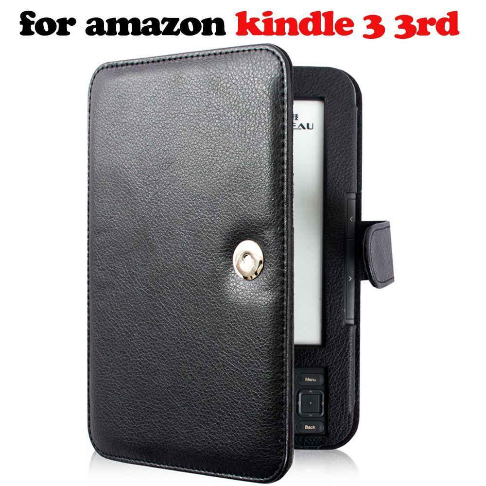 Etui pour Amazon Kindle 3 3rd génération ebook lecteur clavier protecteur d'écran + stylet