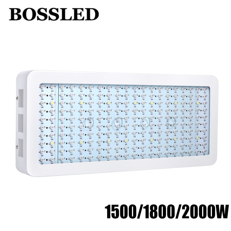 1500W/1800W/2000 Double Chips LED Grow Light Full Spectrum for indoor plants medical houseplants led grow light greenhouse leds