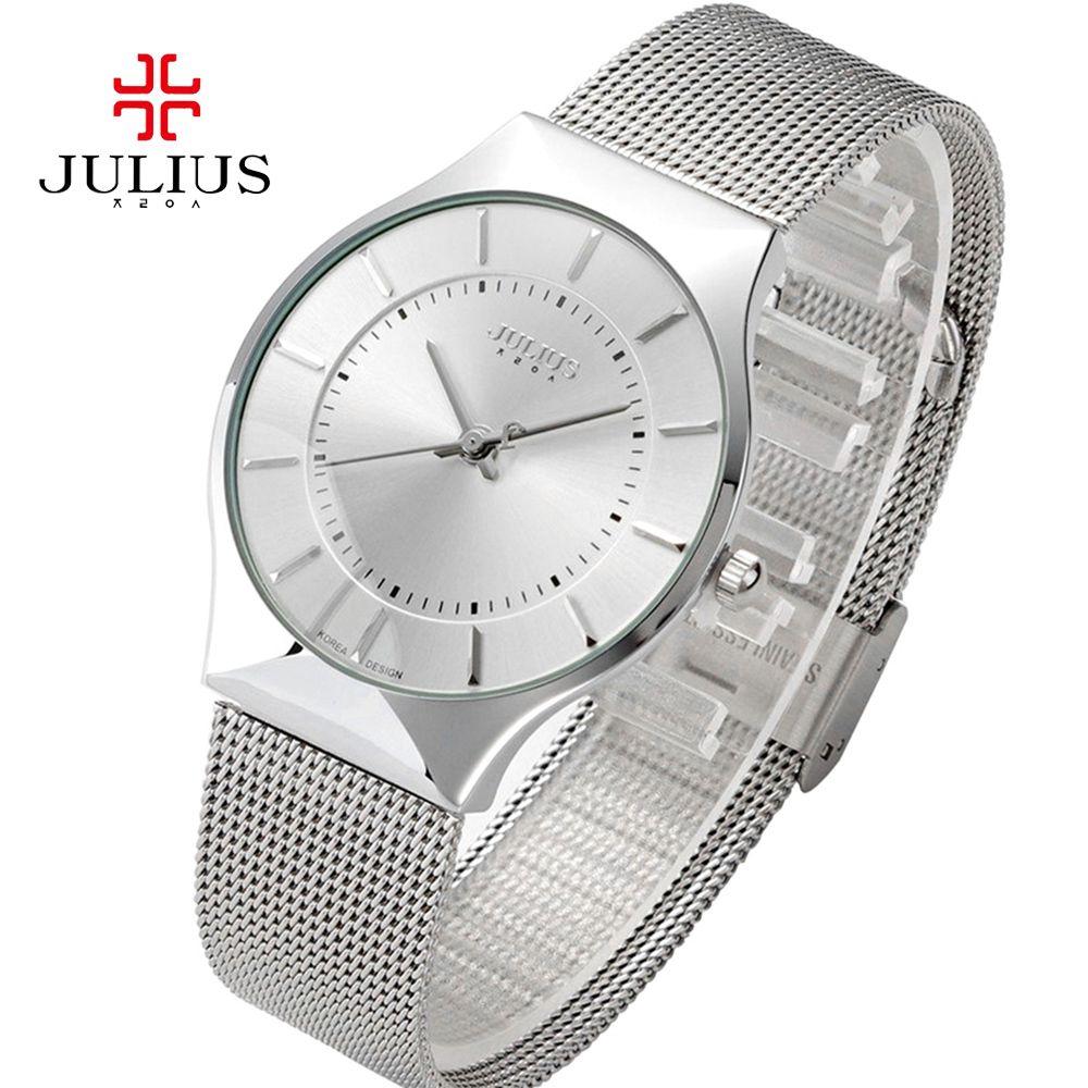 Julius Women Watches Top Famous Brand Luxury Casual Quartz Watch Female Ladies Watch Ultra Thin Wristwatches Relogio Feminino