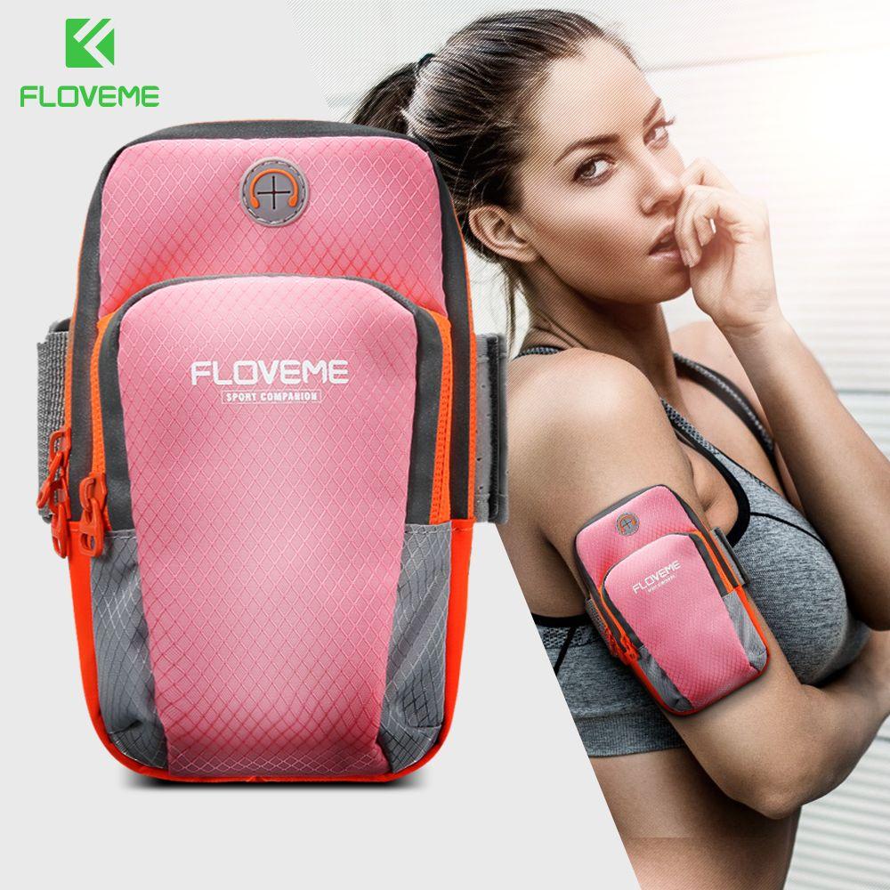 FLOVEME Sport Arm band Für iPhone X 8 8 Plus Fall Laufen Jogging Arm Fall Für iPhone 7 6 6 s Für Samsung Galaxy S8 Huawei Kollege 9