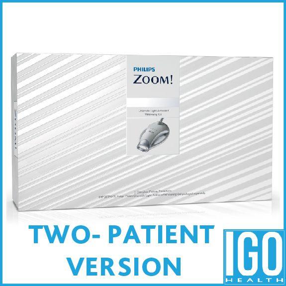Philips zoom im büro verfahren kit ZME2667 2 patienten behandlung tagesweiß-nitewhite in büro whitening kit crest white 3d zahn