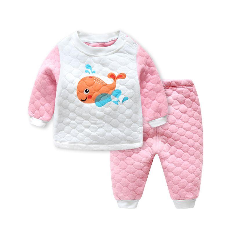 Пуловер пентаграмма Обувь для мальчиков Обувь для девочек одежда теплый мультфильм хлопок Наборы для младенцев K001-K008