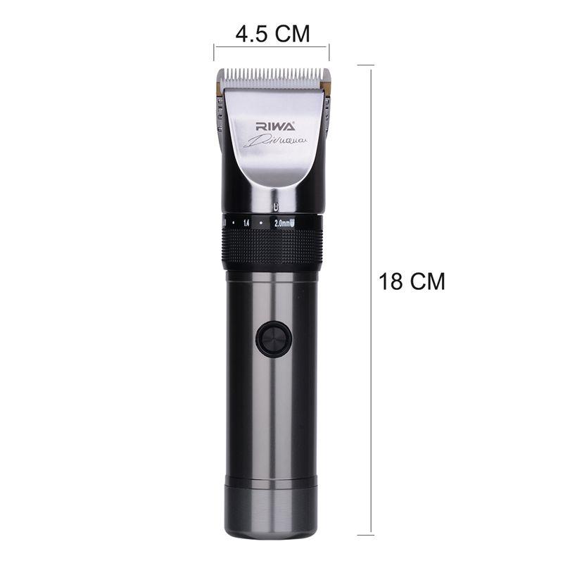 Riwa High Quality Hair clipper Titanium ceramic blade Professional haircutting machine for shaving Beard trimmer for Adult Kid42