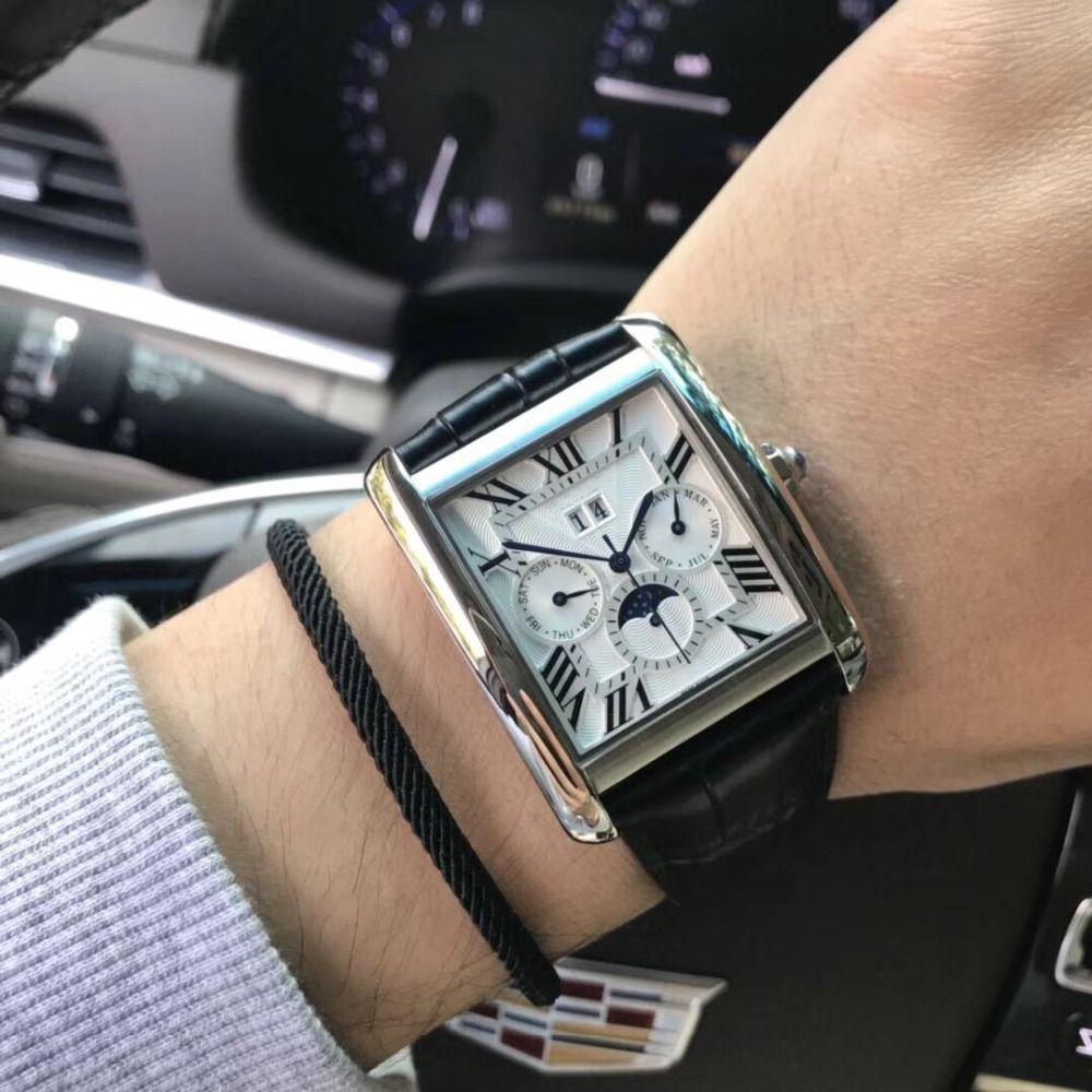 Herren Uhren Top Marke Runway Luxus Europäischen Design Automatische Mechanische Uhr S0722