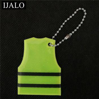 Gilet modèle Réfléchissant pendentif sac accessoires trousseau de Réflexion pour trafic visiblité sécurité utiliser