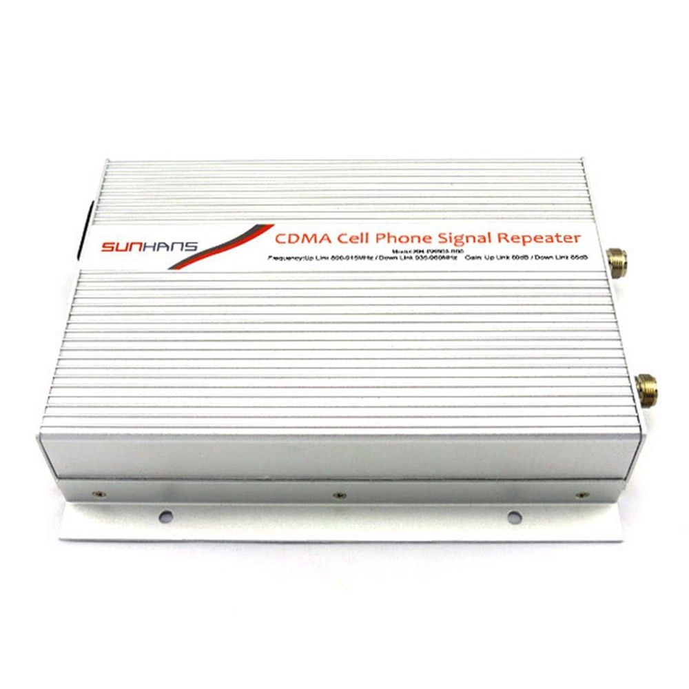 CDMA 990-3W Amplifier 850 MHz 3W (35dBm) Coverage 5000 Sq.m Mobile Signal Booster CDMA Repeater+Free Shipping
