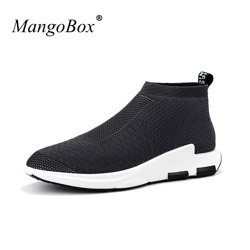 Hot 2017 Spring/Summer Mens Running Sneakers Breathable Athletic Sport Shoes Men Black/Red Walking Jogging Shoes Gym Sneaker