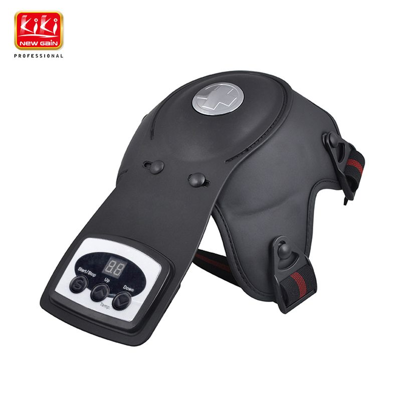 KIKI Physiotherapy instrument for knee joint Hot compress knee massage instrument Electrothermal kneepad Home rehabilitation