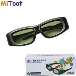 Mitoot Active 3D bluetooth RF Glasses Eyewear for Sony/Epson LCD 3D Projectors tw5200/tw8515/tw6510/tw3020/tw550/tw5300/TW5020UB