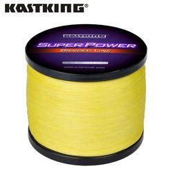 KastKing Lake Sea Fishing 1000m Braided Fishing Line 10 12 15 20 25 30 40 50 65 80LB PE Multifilament Fishing Line
