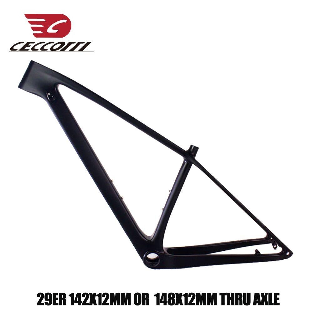 2019 neue modell carbon mtb rahmen 27,5/29er T1000 UD carbon mountainbike rahmen 135*9mm 142/148 * 12mm austauschbare