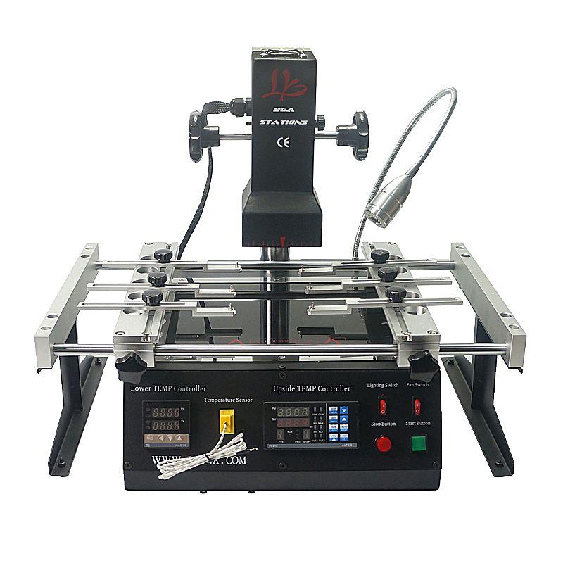 LY IR6500 V.2 infrared BGA rework station bigger preheat area 240*200mm free tax to RU