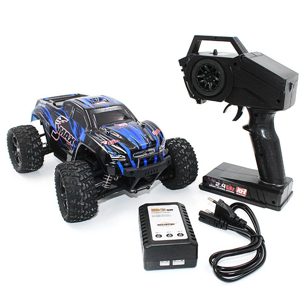 REMO 1631 RC Voiture 1/16 2.4G 4WD Brossé Off-Road Monster Truck SMAX RC Télécommande Jouets Avec Émetteur RTR Voiture Jouet Pour Kid