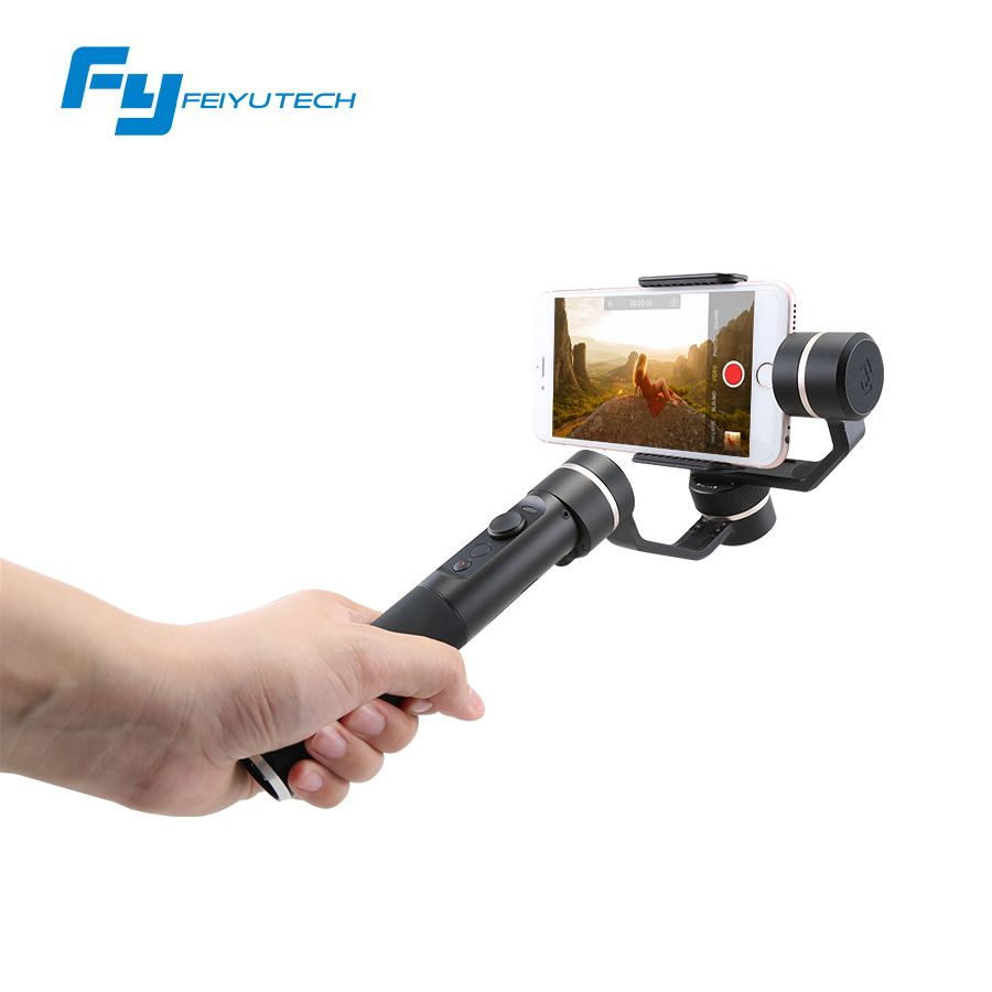 Feiyutech SPG Not Splash Proof gimbal 3 axis handheld stabilizer for smartphone and action photo cameras
