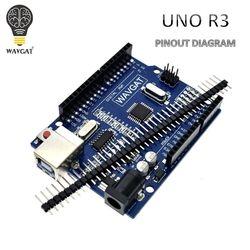 WAVGAT haute qualité UNO R3 MEGA328P CH340G pour Arduino Compatible PAS USB CÂBLE MEGA 2560