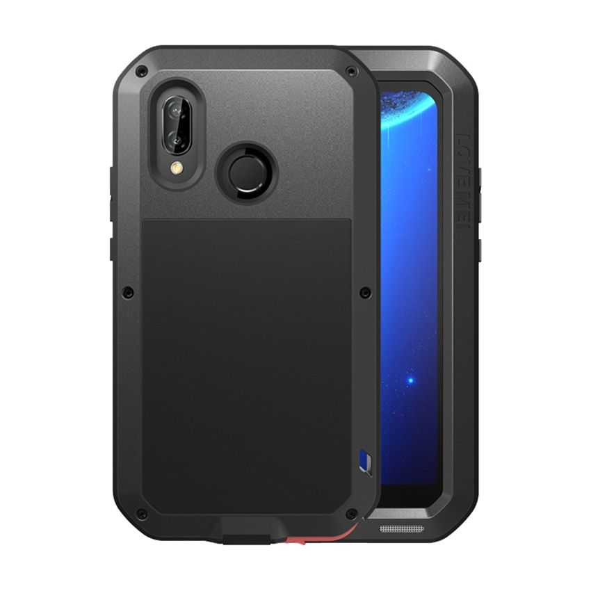 Metal Shockproof Armor Case For Huawei P20 Lite P 20 Lite Pro Nova 3e Heavy Duty Protect Case For Huawei P20 With Gorilla Glass