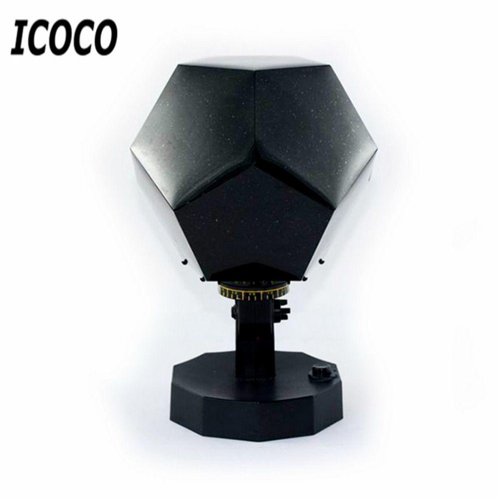ICOCO Haute Qualité Étoile Céleste de Astro Ciel Cosmos Night Light Lampe De Projecteur Étoilé Romantique Chambre Décoration de La Maison D'éclairage