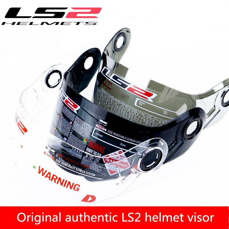 100% Original authentic LS2 helmet visor OF521 OF578 FF320 FF324 FF328 FF397 MX433 MX436 anti-fog lenses