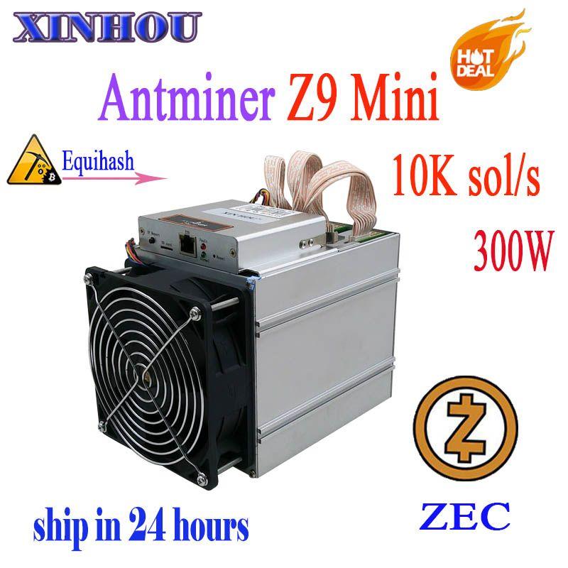 Antminer Z9 mini10k sol/s ASIC miner Equihash keine netzteil Bergbau maschine ZCASH kann übertaktet to14K Bergleute sind besser als S9 L3